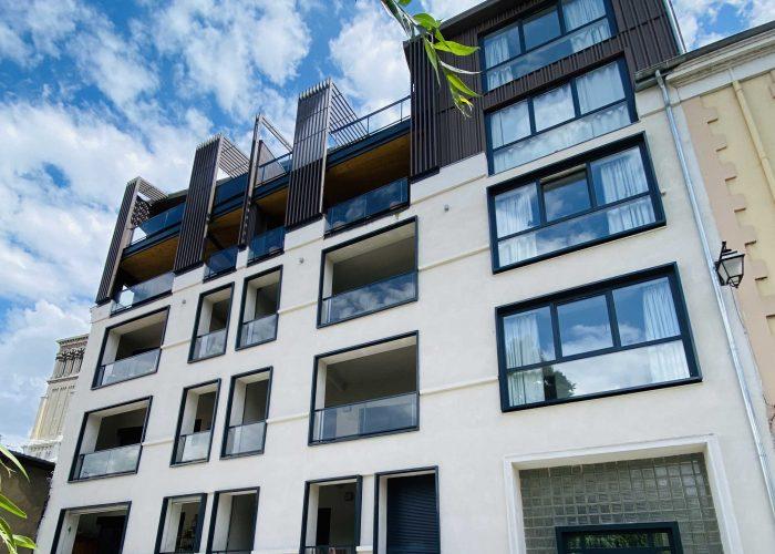 Achat appartement valence; valence cœur de ville; façades moderne; appartement grand standing