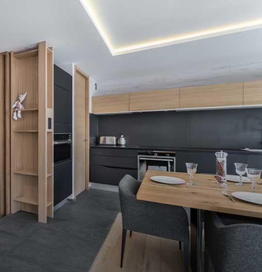 Appartement Le Centaurée; Cuisine équipée