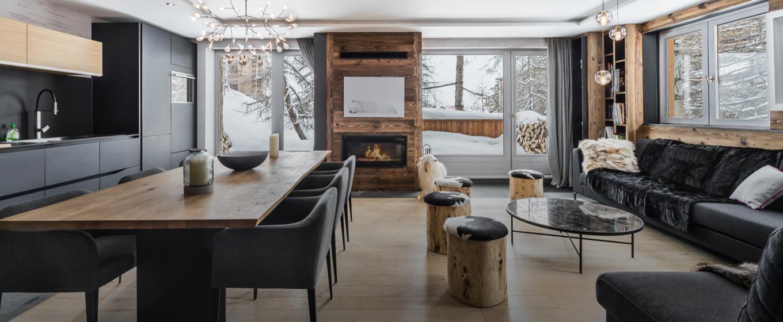 appartement grand standing; val d'Isère; Alpes françaises; ski aux pieds; vue panoramique; grande capacité d'accueil