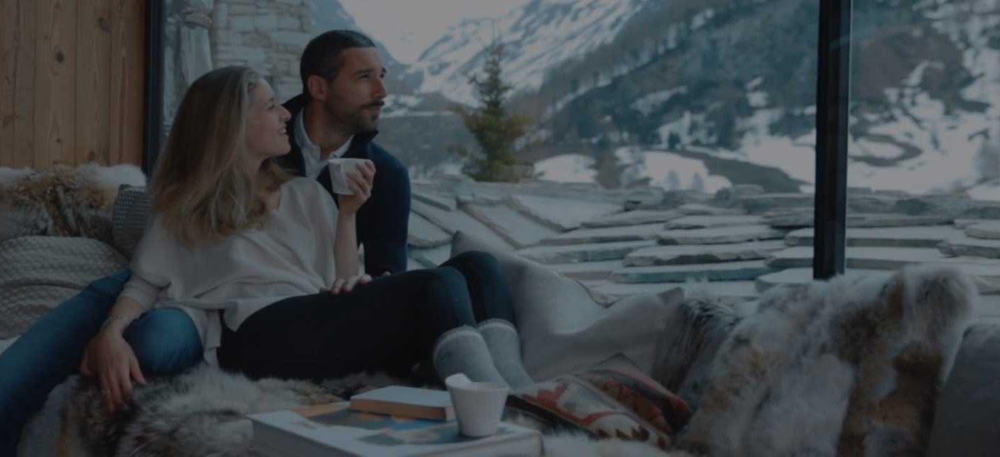 location chalet prestige; Orca; vue panoramique sur les Alpes Françaises; vue unique; chalet somptueux et spacieux; charme rustique; design;