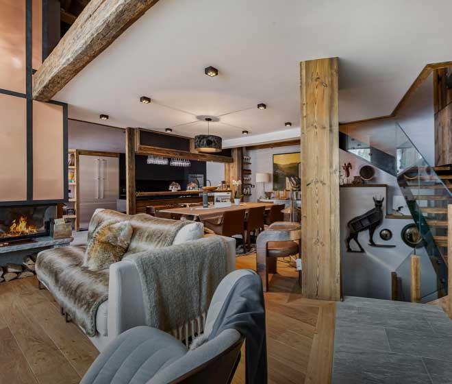 location Chalet Orca espace détente luxueux, cocooning chaleureux; Alpes françaises