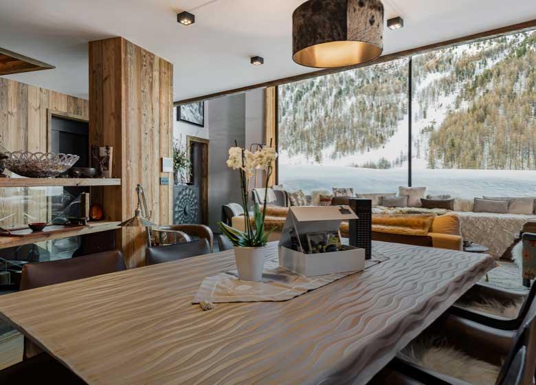 Location chalet luxe Orca&Orso; Val d'Isère, Alpes Françaises; séminaire d'entreprise; grande capacité d'accueil