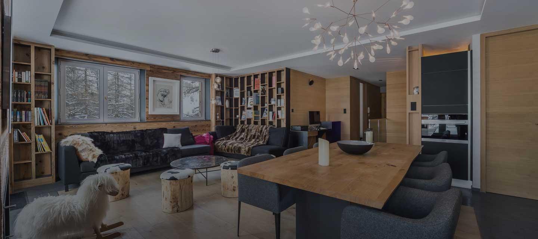 Location appartement de luxe Centaurée Val d'Isère Alpes françaises