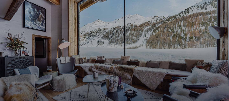 Location chalet luxe Orca; Val d'Isère, Alpes Françaises;