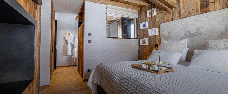 Chalet Orca Espace Nuit chambre suite spacieuse , grand confort